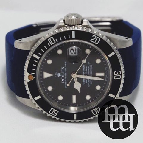 Jam Tangan Rolex Submariner Steel with Steel Bezel