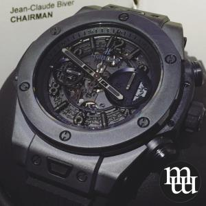 Jam Tangan Hublot Unico 45mm Ceramica Rubber Limited 1000 pcs