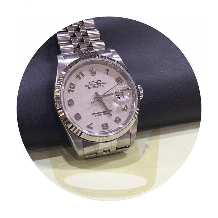 69fb6d25072 Jam Tangan Rolex Datejust 36 Steel White Gold-2