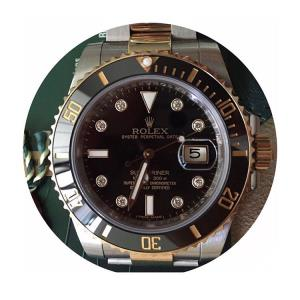 Jam Tangan Rolex Submariner Totone Diamond