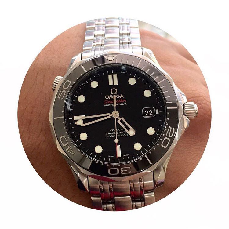 fcc069910e1 Jam Tangan Omega Seamaster Co-Axial Ceramica